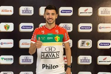 Brusque anuncia a contratação do meia atacante Gabriel Taliari