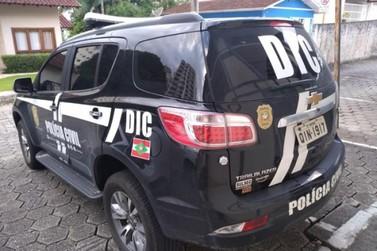 Homem que tentava aplicar golpe em agência bancária no Centro é preso em Brusque