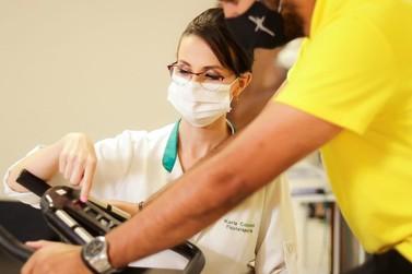 Sequelas pós covid-19: Fisioterapia devolve capacidade física e respiratória