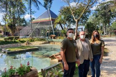 Parque Zoobotânico inaugura novo espaço de lazer