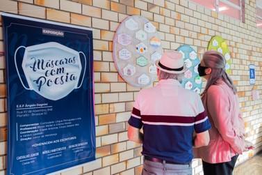 """Unifebe recebe exposição """"Máscaras com Poesia"""""""