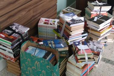 Campanha de doação de livros arrecada mais de 600 obras literárias