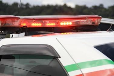 PM recupera carro com registro de furto em Brusque