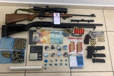 Polícia Militar prende homem por tráfico de drogas em Guabiruba