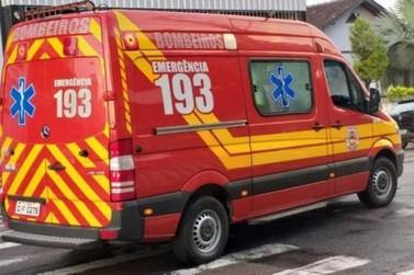 Homem fica ferido após ser atingido por golpe de faca em Brusque