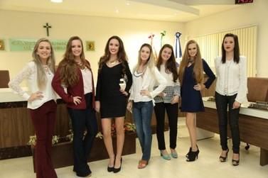 Apresentadas candidatas à realeza da 4ª Festa da Integração