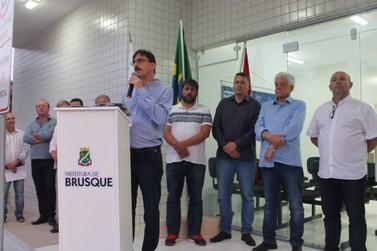 Prefeitura de Brusque entrega novo posto do Bairro São Pedro