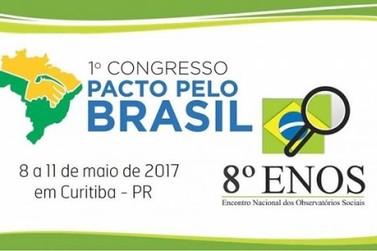 Brusque representada no 1º Congresso do Pacto pelo Brasil e 8º Encontro de Observatórios