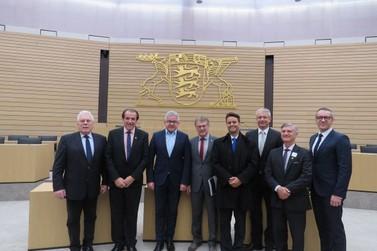 Comitiva de Brusque visita o Parlamento Estadual de Baden Wurttemberg