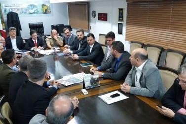 Empresários e lideranças políticas de Brusque vão a Florianópolis pedir maior efetivo policial