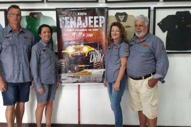 Fenajeep será realizada em Brusque em 2017