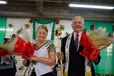 José e Maria de Lourdes Cavichioli são os novos rei e rainha da Melhor Idade