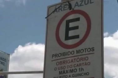 Novo projeto de estacionamento rotativo em Brusque inclui ruas com área amarela