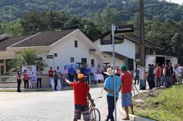 Prefeitura de Guabiruba inicia inaugurações de 2017