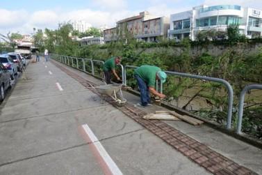 Prefeitura inicia revitalização da avenida Beira Rio