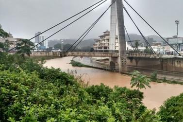 Rio Itajaí Mirim deve transbordar no final desta tarde