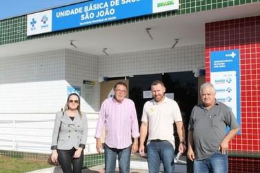 Vereadores visitam mais seis unidades de saúde