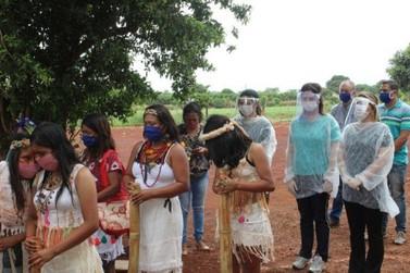 Aldeia Jaguapiru em Dourados, foi visitada pelo Ministério da Mulher e Direitos