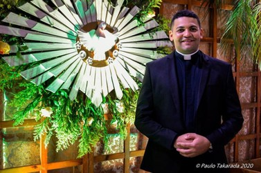 Mais um sacerdote para a igreja católica e para Caarapó, Pe Cristiano dos Santos