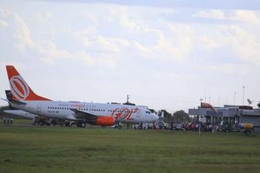 Gol retoma voos em Dourados no início de fevereiro