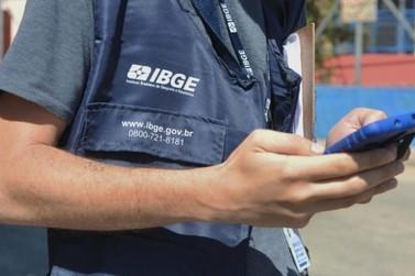 IBGE oferece 2.815 vagas em MS para o Censo 2021 com salário de até R$ 2,1 mil