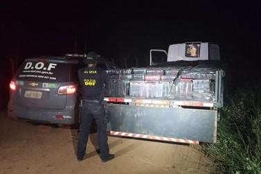 Motorista é preso com 3,5 toneladas de maconha