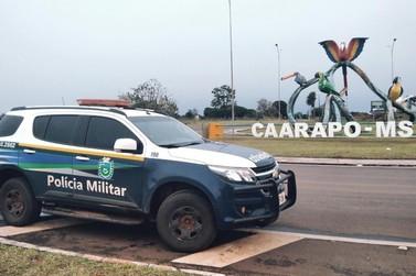 PM de Caarapó prende homem por tentativa furto