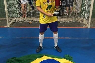 Cruzeirodoestano é campeão sul-americano pela Seleção Brasileira