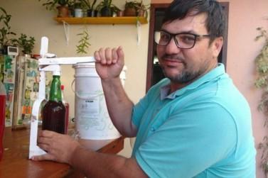 Professor de Umuarama ensina fazer refrigerante natural e faz sucesso
