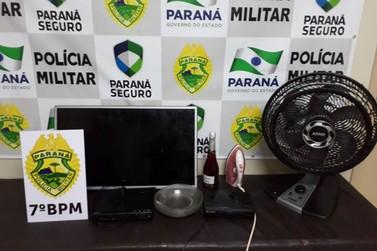 Policiais do 7º BPM realizam apreensão em Cruzeiro e prisão em Cidade Gaúcha