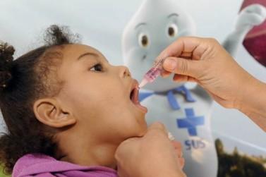Baixa vacinação contra a poliomielite acende alerta