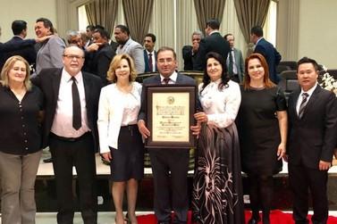 Pastor Antônio Ferreira recebe título de Cidadão Honorário
