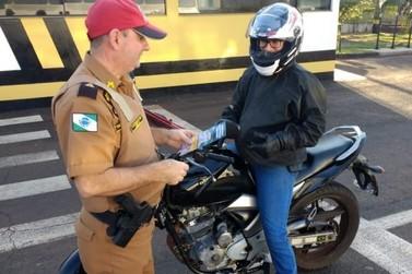 Polícia Rodoviária de Cruzeiro realiza evento alusivo ao Dia do Motociclista