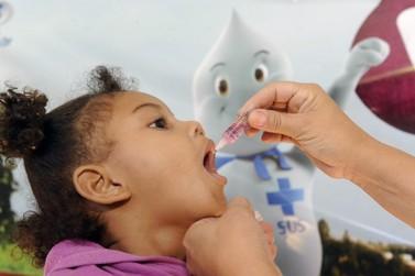 No Paraná, 581,3 mil crianças devem receber vacina contra a pólio e sarampo