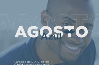 Prefeitura de Cruzeiro está realizando nesta sexta o Dia D do Agosto Azul