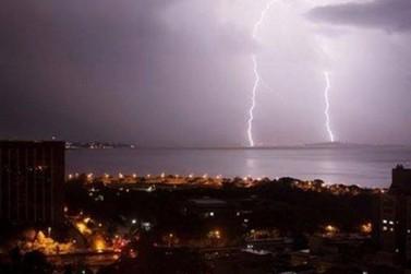 Risco de temporal para este final de semana no Paraná