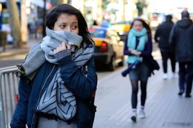 Temperatura despenca e é previsto geada para a madrugada de sexta-feira