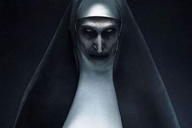 """A Freira, de """"Invocação do Mal"""", está em cartaz no Cine Vip em Umuarama"""