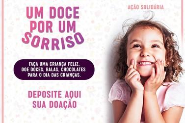 Ação Solidária arrecada doces para distribuir no Dia das Crianças em Cruzeiro