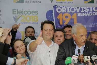 Ratinho Júnior, diz que é preciso investir em iniciativa privada transparente