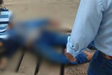 Homem é morto na frente da filha de 8 anos e tem cavalo abatido