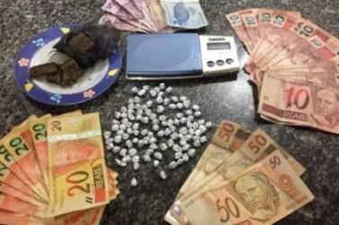 Homem é preso suspeito de tráfico de drogas em Palotina