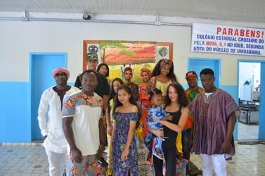 Seminário da Cultura Afro- brasileira e indígena no Colégio Estadual