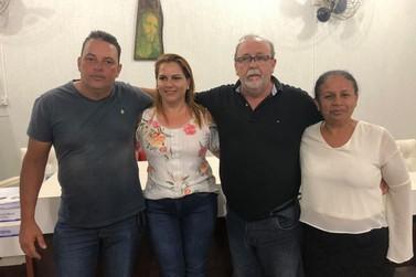 Aparecido Delfino (Cidinho) foi eleito o novo presidente da Câmara Municipal