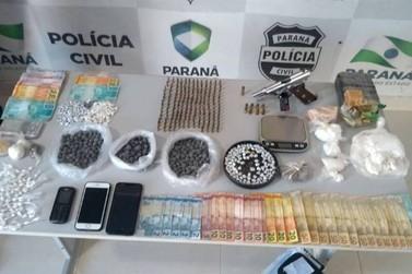 Operação prende 13 suspeitos com drogas, dinheiro e munições