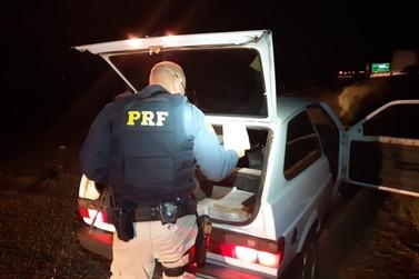 Polícia Rodoviária Federal apreende mais de 80 quilos de maconha em Alto Paraíso
