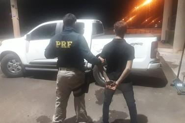 Polícia Rodoviária Federal recupera caminhonete que foi roubada em Iporã