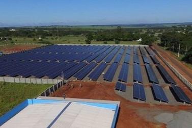 Usina fotovoltaica do TRE-PR em Paranavaí está em fase de conclusão