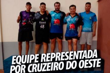 Atletas de Cruzeiro do Oeste são destaques na  2ª etapa do campeonato Paranaense