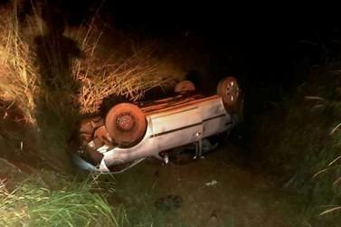 Cinco pessoas ficam feridas após acidente em São Jorge do Patrocínio